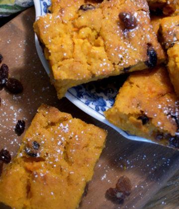 Pumpkin Pudding St Helena Island