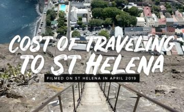 Cost of traveling to St Helena