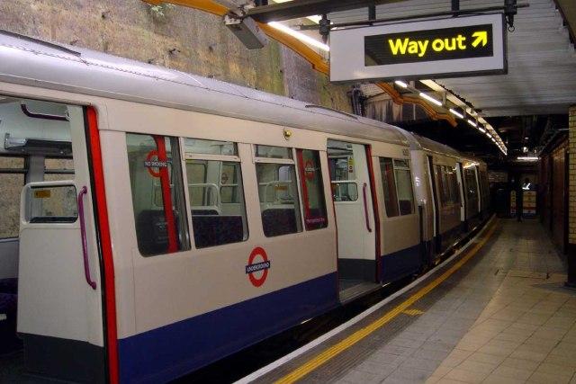 UK underground tube