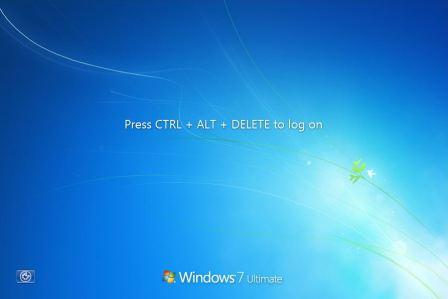 Change your lock screen picture windows 7