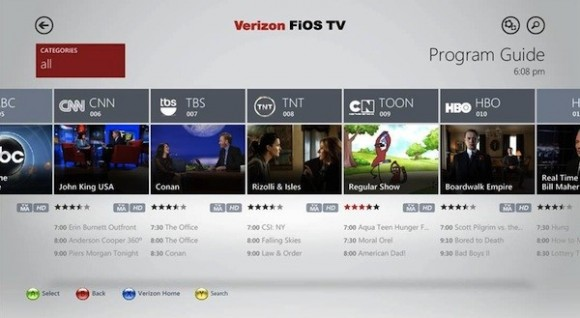 Xbox One gets live TV with Verizon's FiOS app