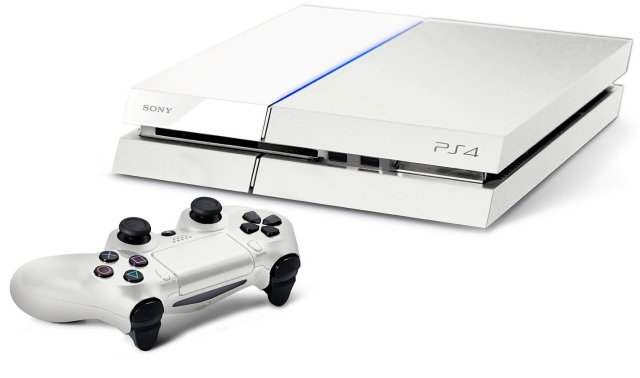 white-playstation-4