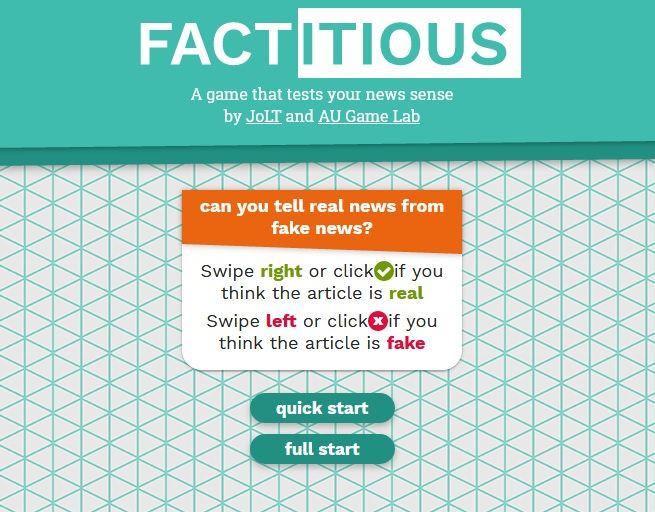 factitious
