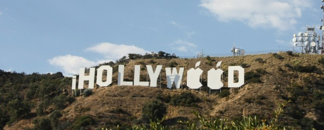 apple hollywood sign