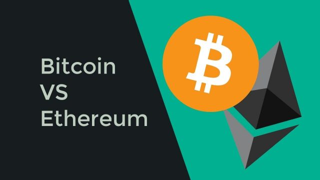 bitcoin v ethereum