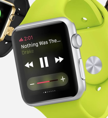 apple watch os 4 now playing
