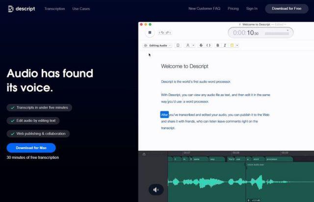 Audio Transcription App