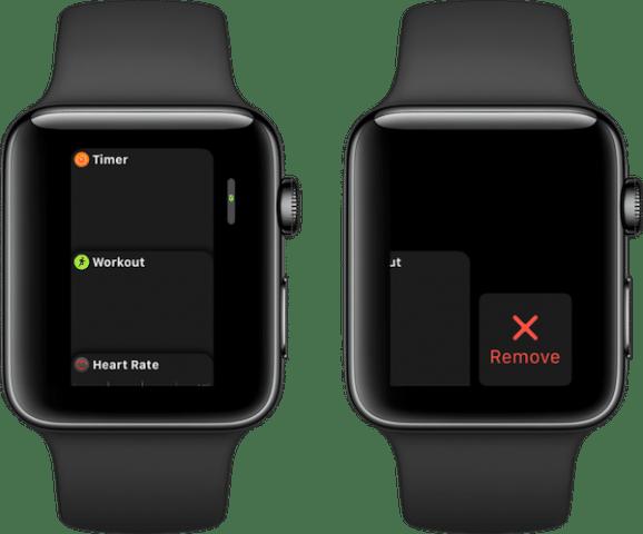 apple watch close apps