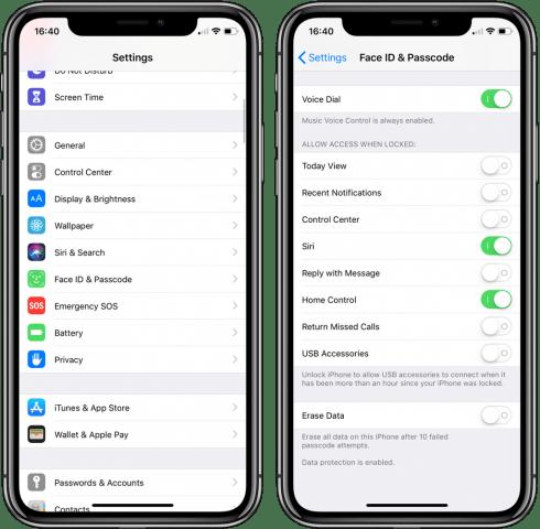 iphone usb mode