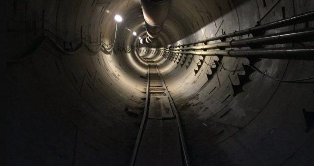 boring tunnel
