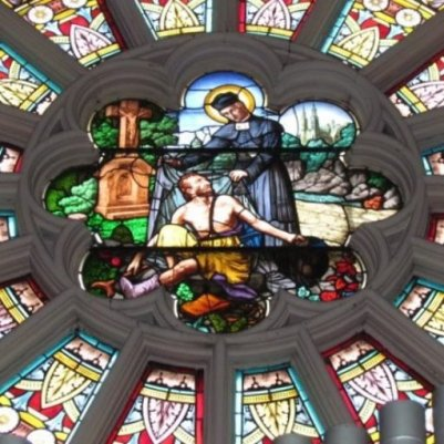 From Rose window