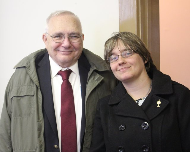 with Brenda Myc