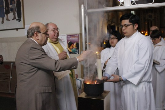Holy Saturday: Blessing of the Easter Fire
