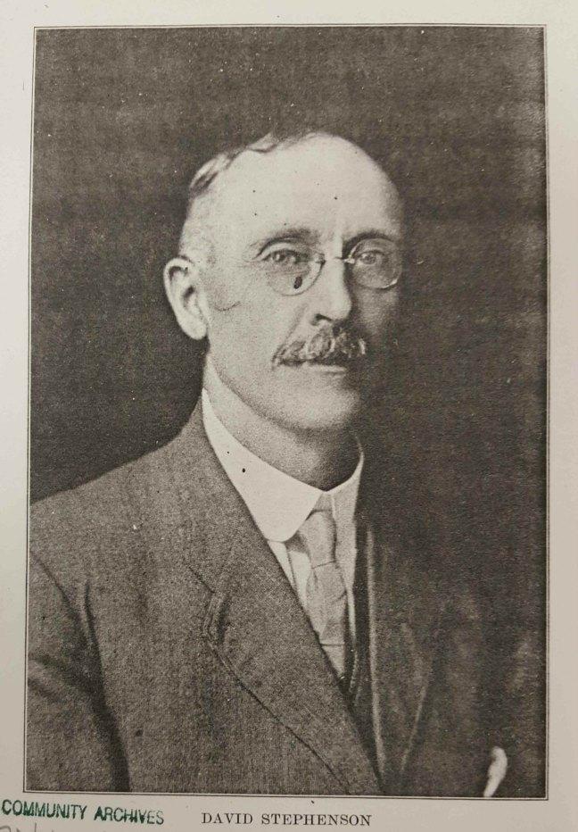 David Stephenson (1844-1937) circa 1910 (Courtesy of Nanaimo Community Archives)