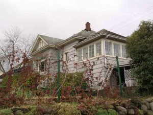 641 Third Avenue, Ladysmith, BC. Built in 1903 for John Coburn (photo by St. John's Lodge No. 21 Historian)