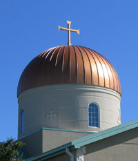 Dome and Cross
