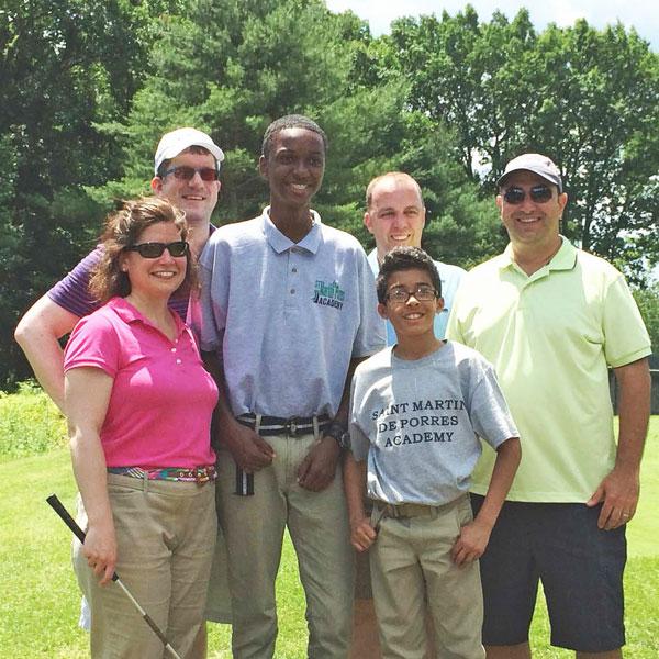 Saint Martin de Porres Academy Golf-fore-Kids Tournament