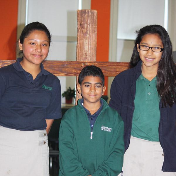 Spiritual Life at Saint Martin de Porres Academy