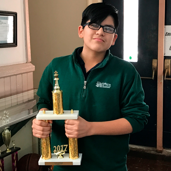Chess Teams wins second Place