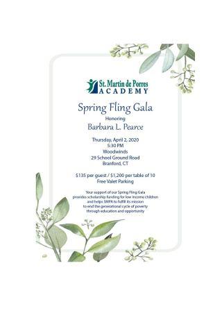 202 Spring Fling Gala Honoring Barbara L. Pearce