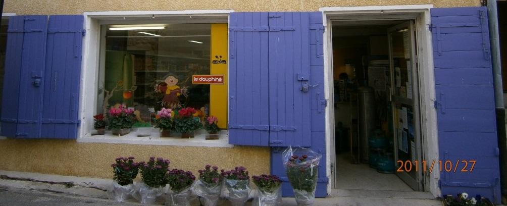 Épicerie, journaux, tabac à Saint Maurice sur Eygues