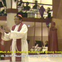 Buhayin Muli Ang Kanyang Halimbawa Bilang Isang Lingkod
