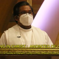 Feast of the Baptism of Our Lord Jesus Christ - Living in Christ: Anointed of God