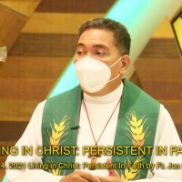 Living in Christ: Persistent in Faith