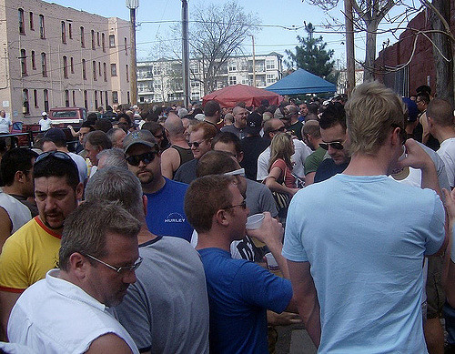 Beer Bust at The Wrangler