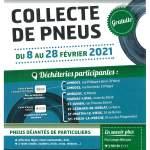 Collecte de Pneus du 08 au 28 février 2021