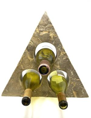 triangle wine bottle holder