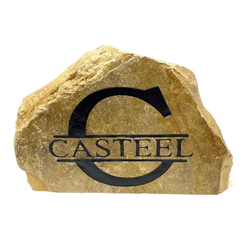 Large Monogram Stone