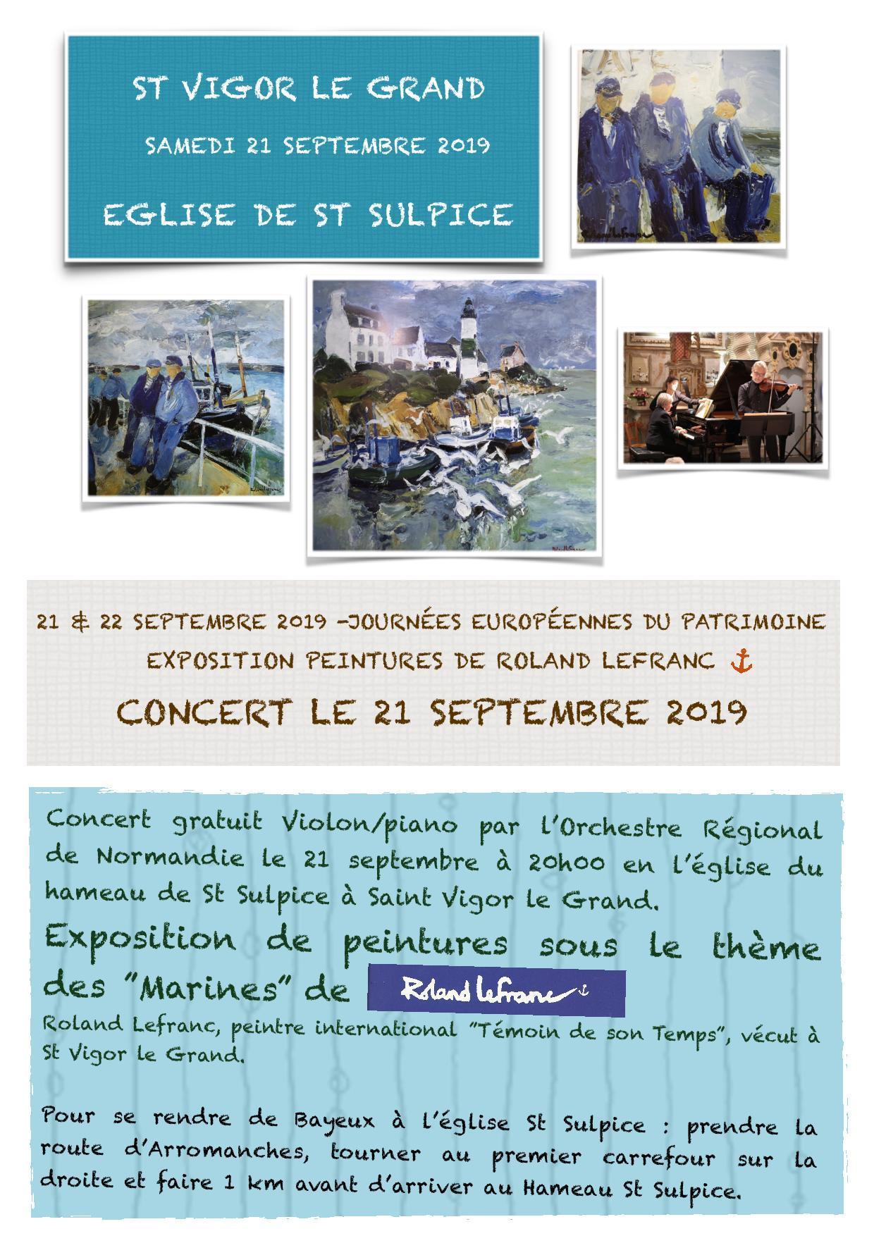 Affiche concert 2019 St Vigor