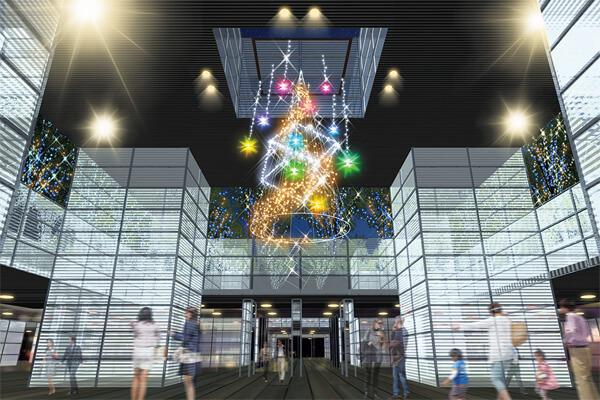 Keyaki Hiroba Illumination