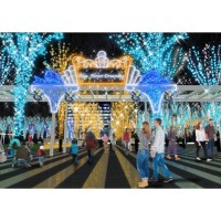 Keyaki Hiroba Illumination Blue Flower Dreaming | SAITAMA CITY