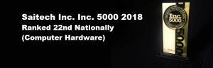 inc5000award BLACK background Ranked 22nd
