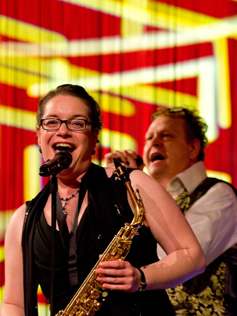 The Lady with the Sax