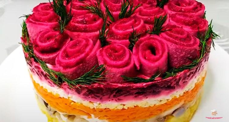salat-buket-rozа