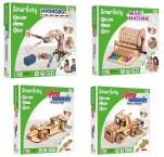 Smartivity: une super collection de maquettes mécaniques en bois