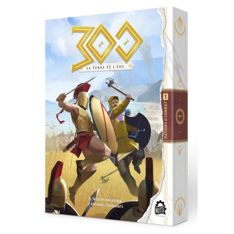 Le jeu de société 300 La terre et l'eau édité par Nuts Publishing