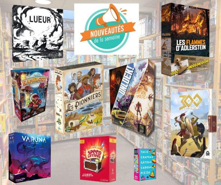 Nouveaux jeux de société arrivés chez Sajou au 27-07-2021