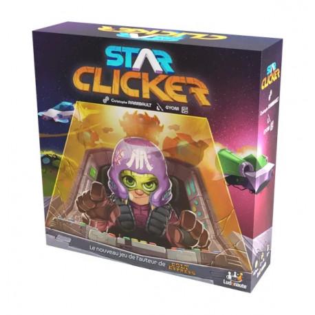 Le jeu de société Star Clicker édité par Ludonaute
