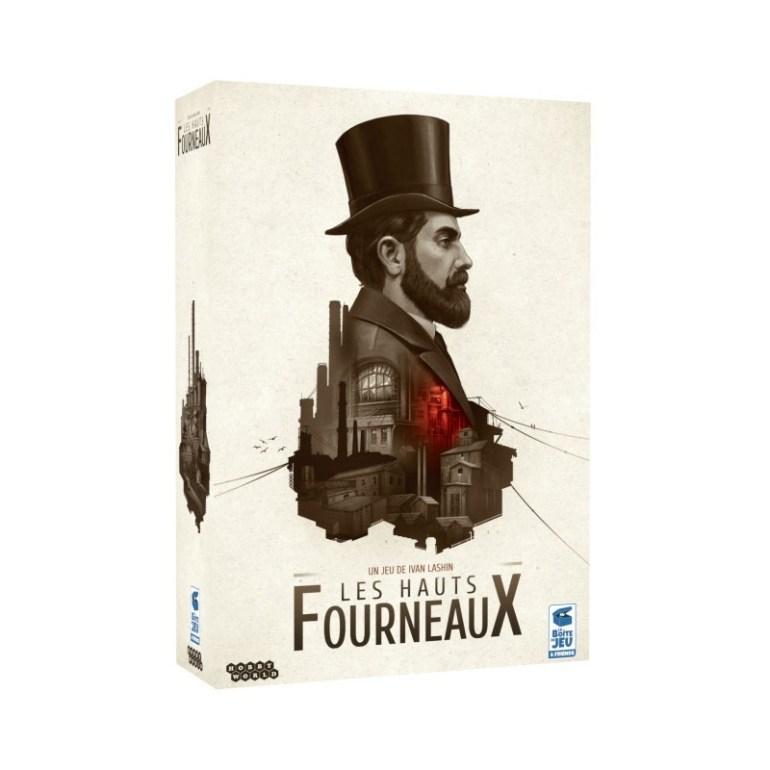 Le jeu de société Les Hauts Fourneaux édité par La Boute de Jeu
