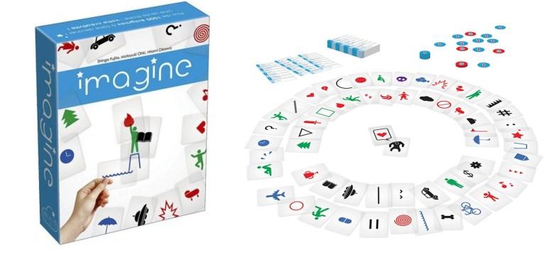 Le jeu Imagine édité par Cocktail Games