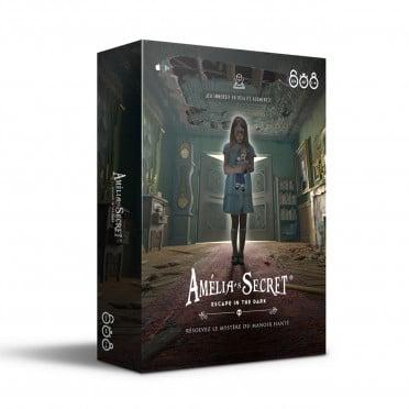 Le jeu Amelia's Secret édité par XD Productions et distribué en Belgique par Géronimo
