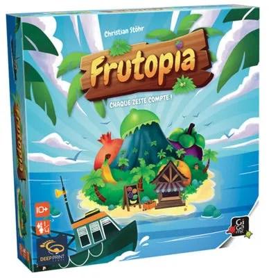 Le jeu Frutopia édité et distribué par Gigamic