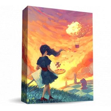 Le jeu de société Canvas édité par Road to Infamy Games et distribué par Asmodée