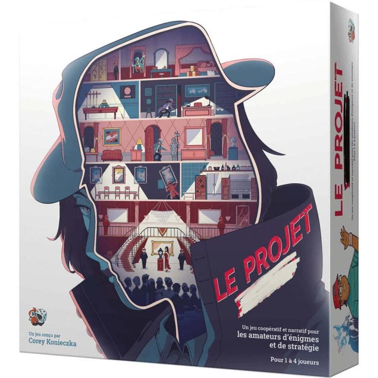 Le jeu de société Le Projet édité par Unexpected Games