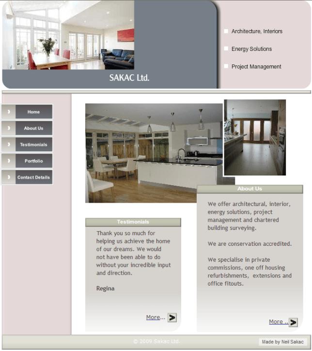 Sakac Ltd Home Page