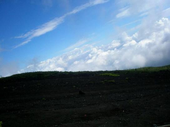 雲と空と山